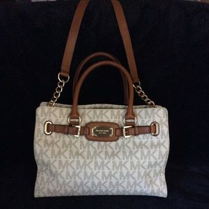 Michael Kors Large Satchel with Crossbody Strap
